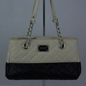 Nine west City block quilted Purse